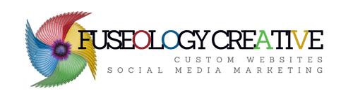 Fuseology  Creative Sticky Logo